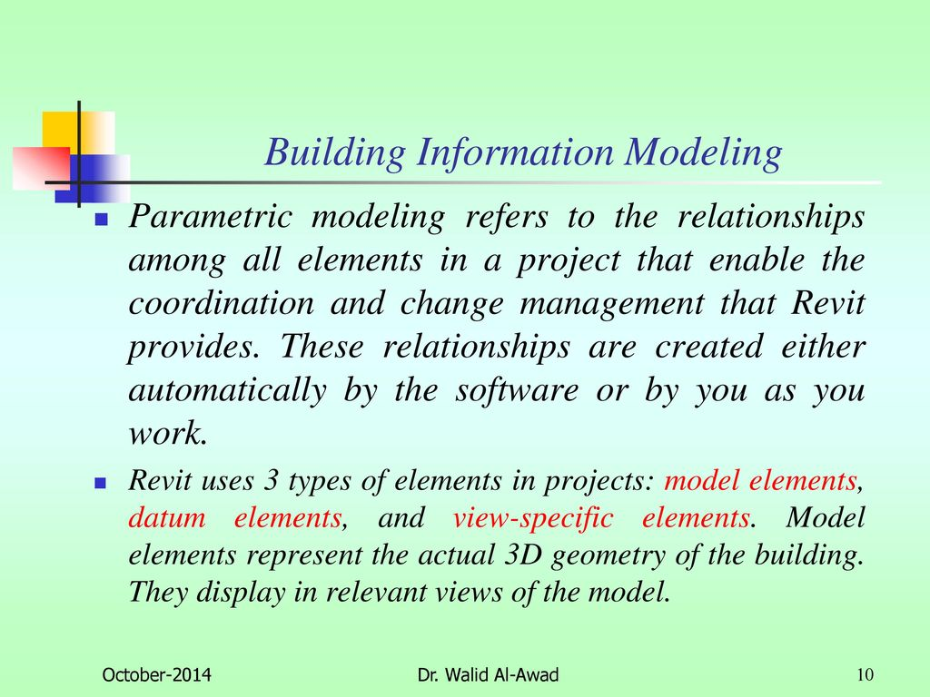 Building Information Modelling - ppt download