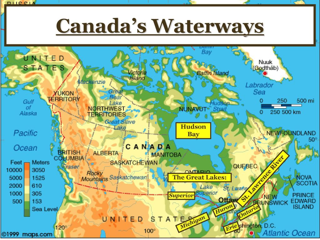 St Lawrence River World Map.Canada Geography Ss6g5 The Student Will Locate Select Features Of