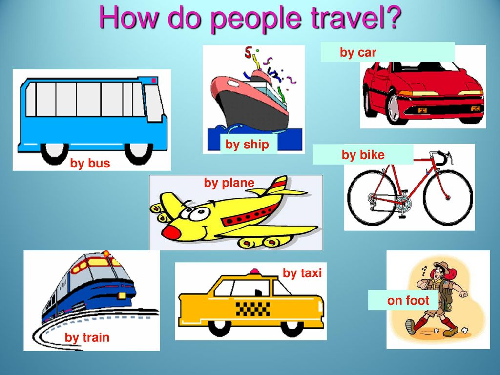 and ways of travelling means of travelling ppt download
