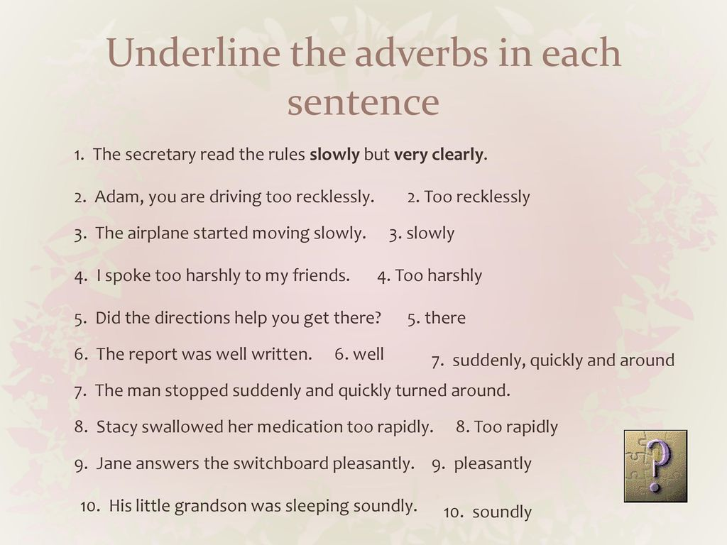 What is an adverb? Benchmark: What is an adverb Reading benchmark: - ppt  download