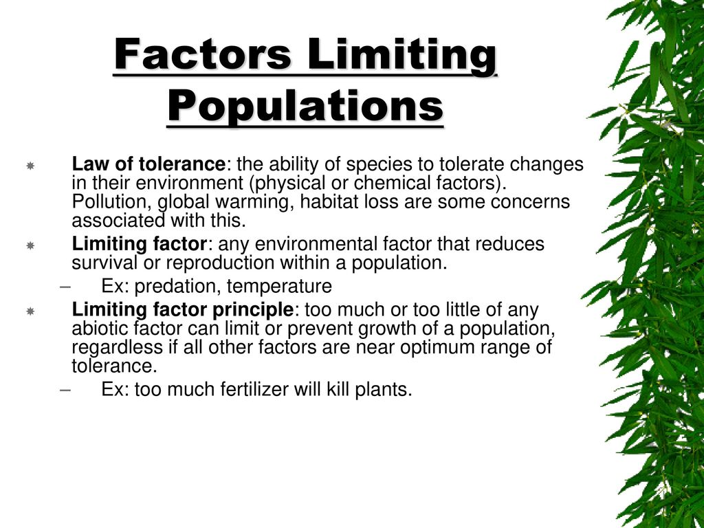 limiting population key factor protecting global environment Is limiting population a key factor in protecting the global environment  contrary some argue that growing population is a key driver factor of environmental destruction the purpose of this research project is to explain the main arguments of both sides and to recommend possible action in order to face with most important problems.