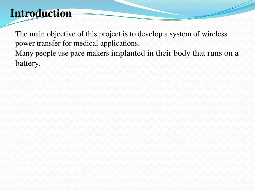 Wireless power transfer by High frequency resonating coils - ppt