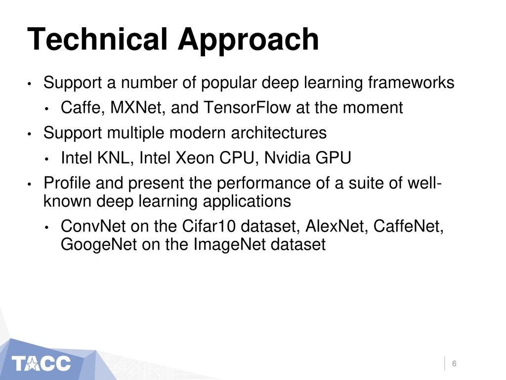 Early Results of Deep Learning on the Stampede2 Supercomputer - ppt