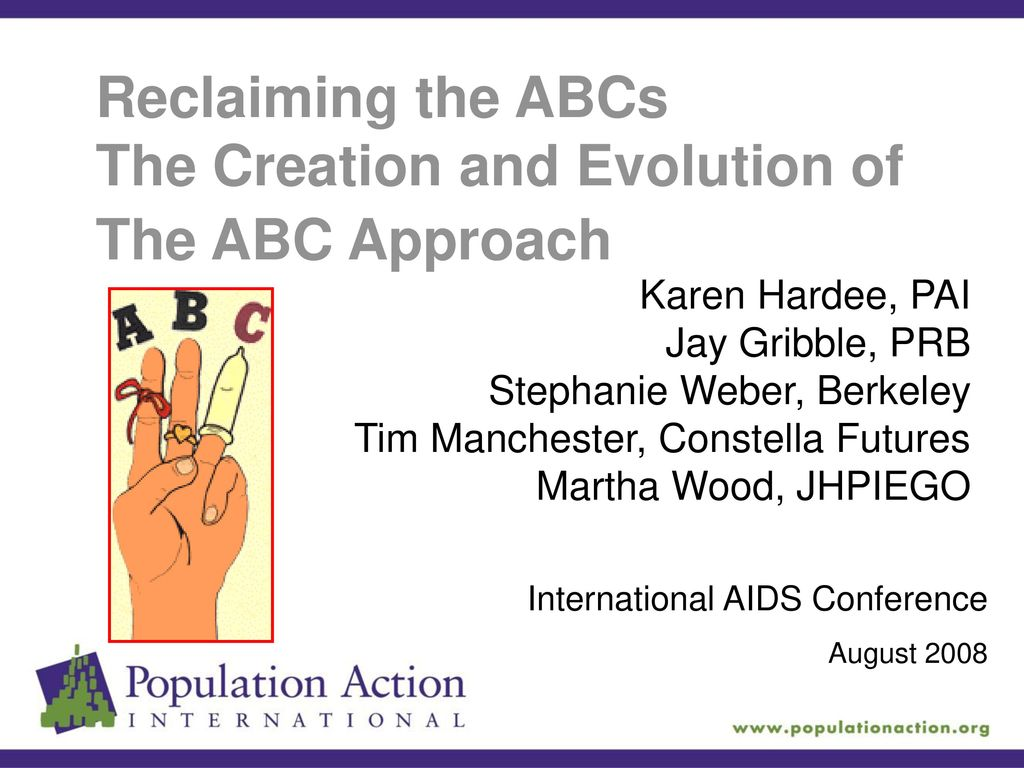 Abc Creation se rapportant à the creation and evolution of the abc approach - ppt download