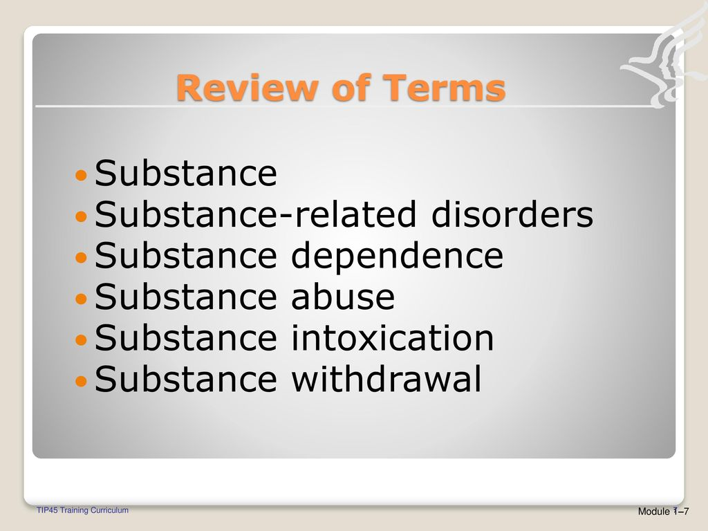 tip 45 welcome detoxification and substance abuse treatment. - ppt