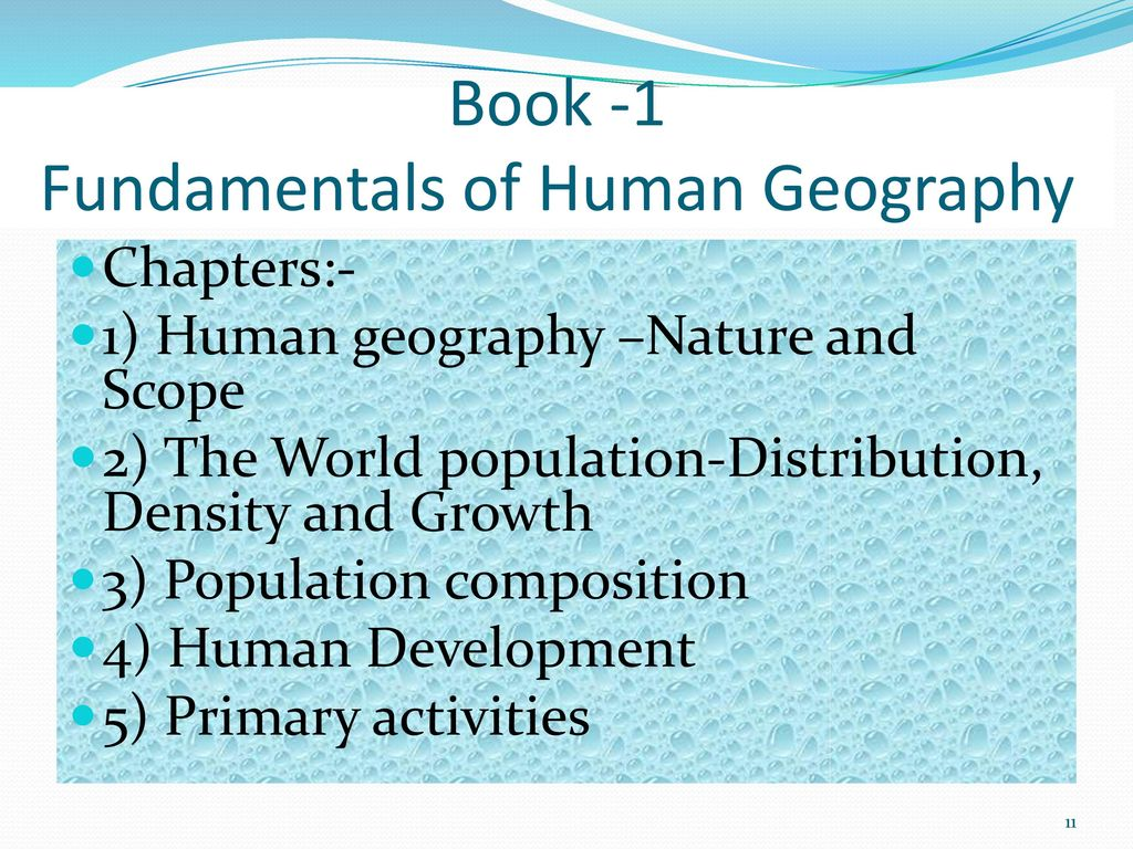 Geography Curriculum XI,XII  - ppt download