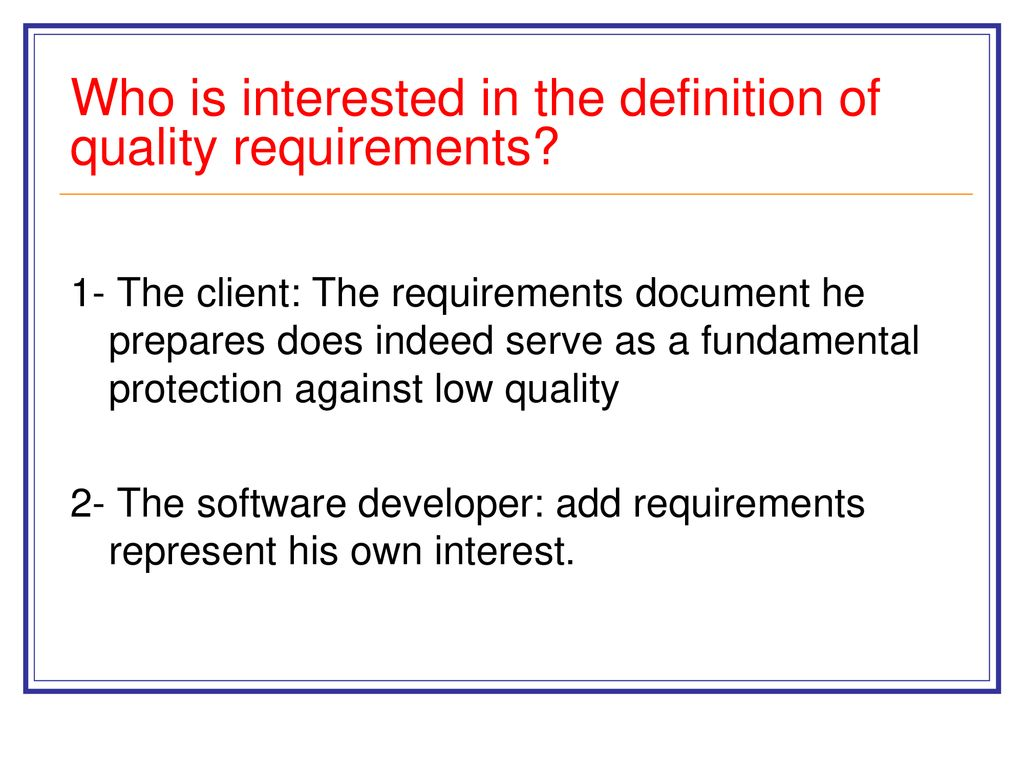 software quality factors - ppt download