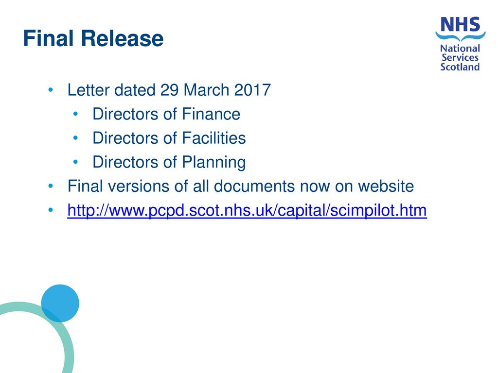 nhs capital investment manual stages