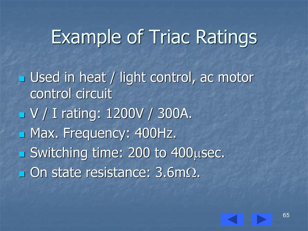 Power Electronics Prof Mohammed Zeki Khedher Ppt Download Basic Snubber Circuit Used With A Triac Example Of Ratings
