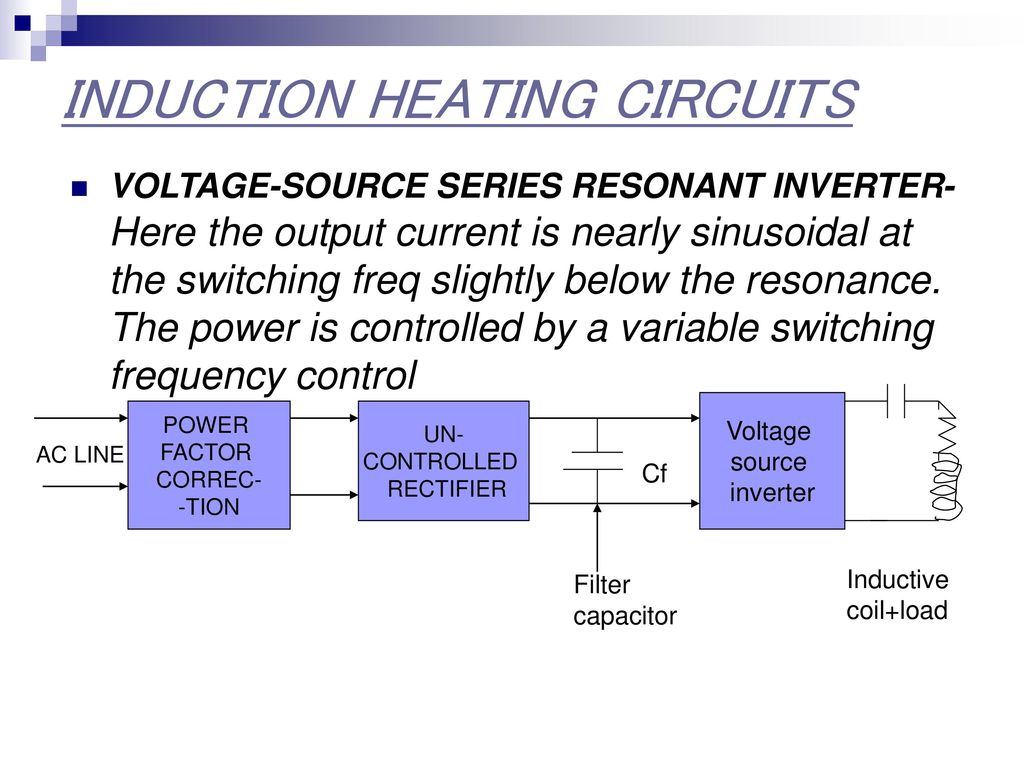 Application Induction Heating Ppt Download Automatic Control Circuit Diagram Controlcircuit Circuits