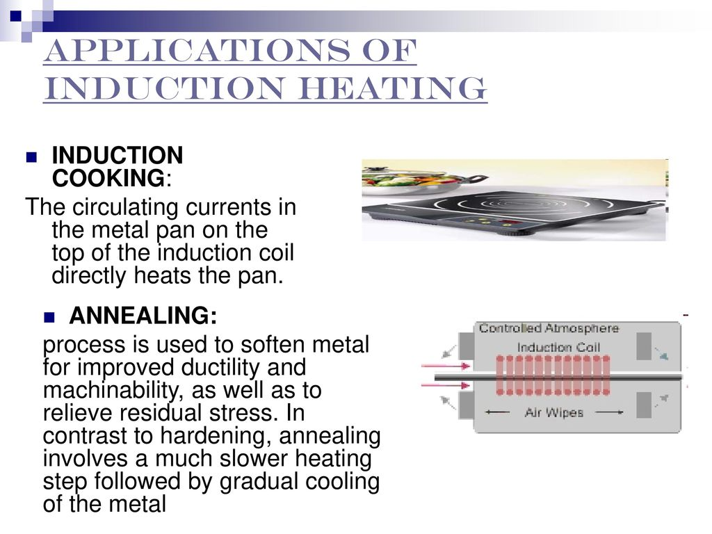 Application Induction Heating Ppt Download Simple Heater Circuit Applications Of
