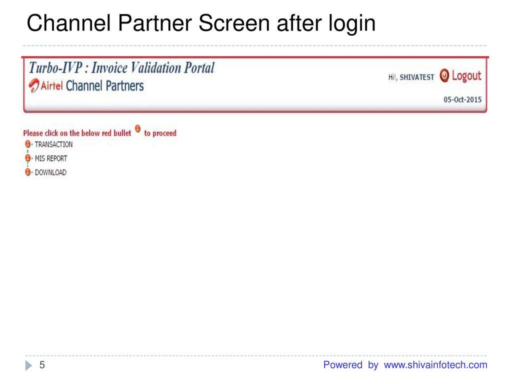 User Manual of Turbo-IVPTM Invoice Validation  - ppt download