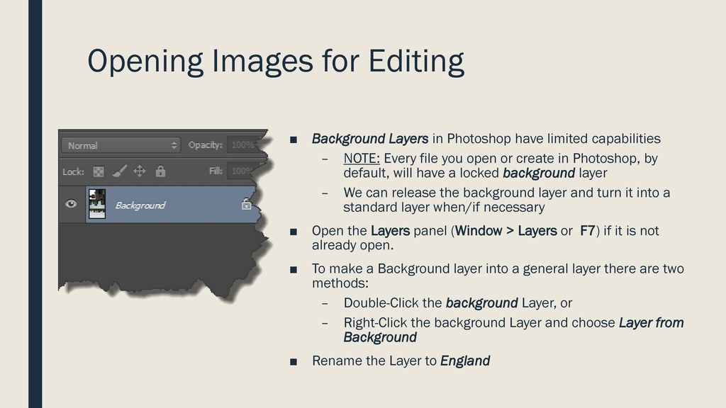 Using Photoshop to edit Images - ppt download