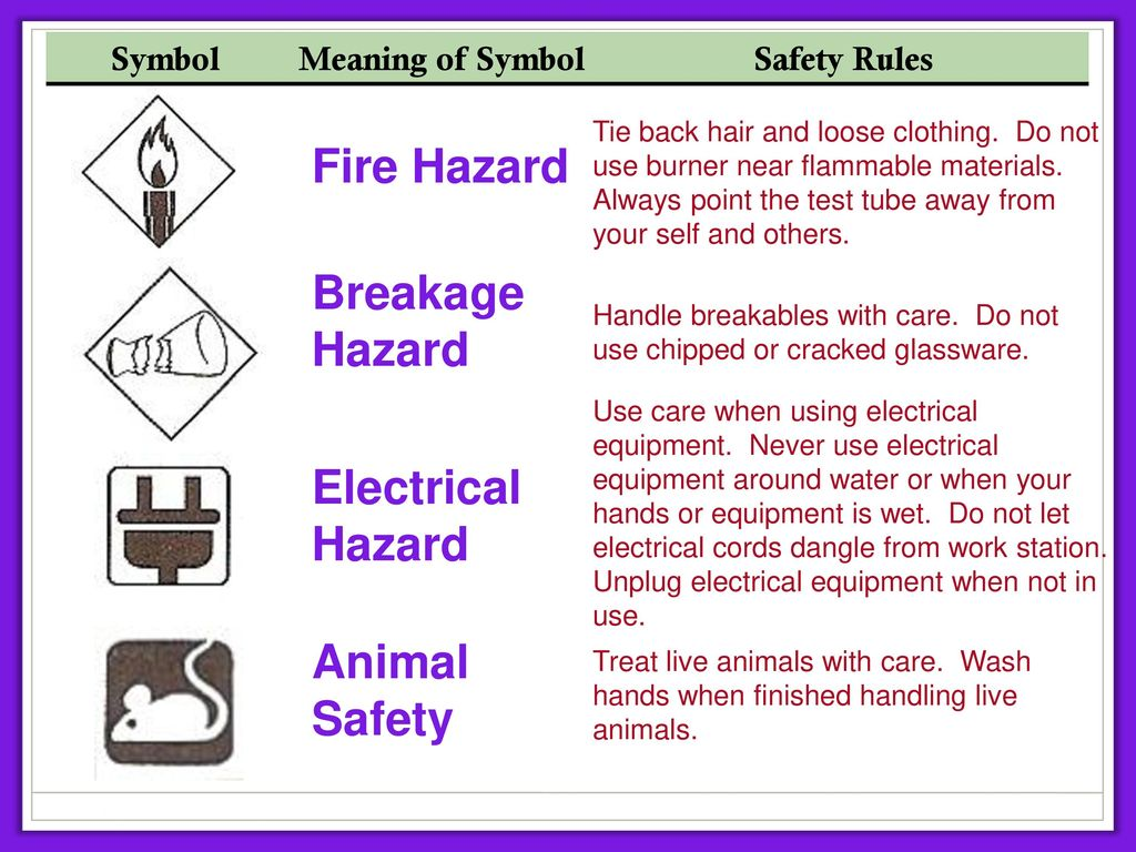 Laboratory Safety Rules Ppt Download