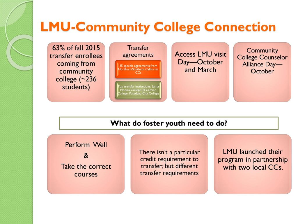 Supporting Foster Youth Across The Laccd Towards Completion Ppt