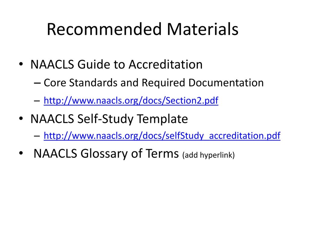 Standard 22B - MLT Instructional Areas - ppt download
