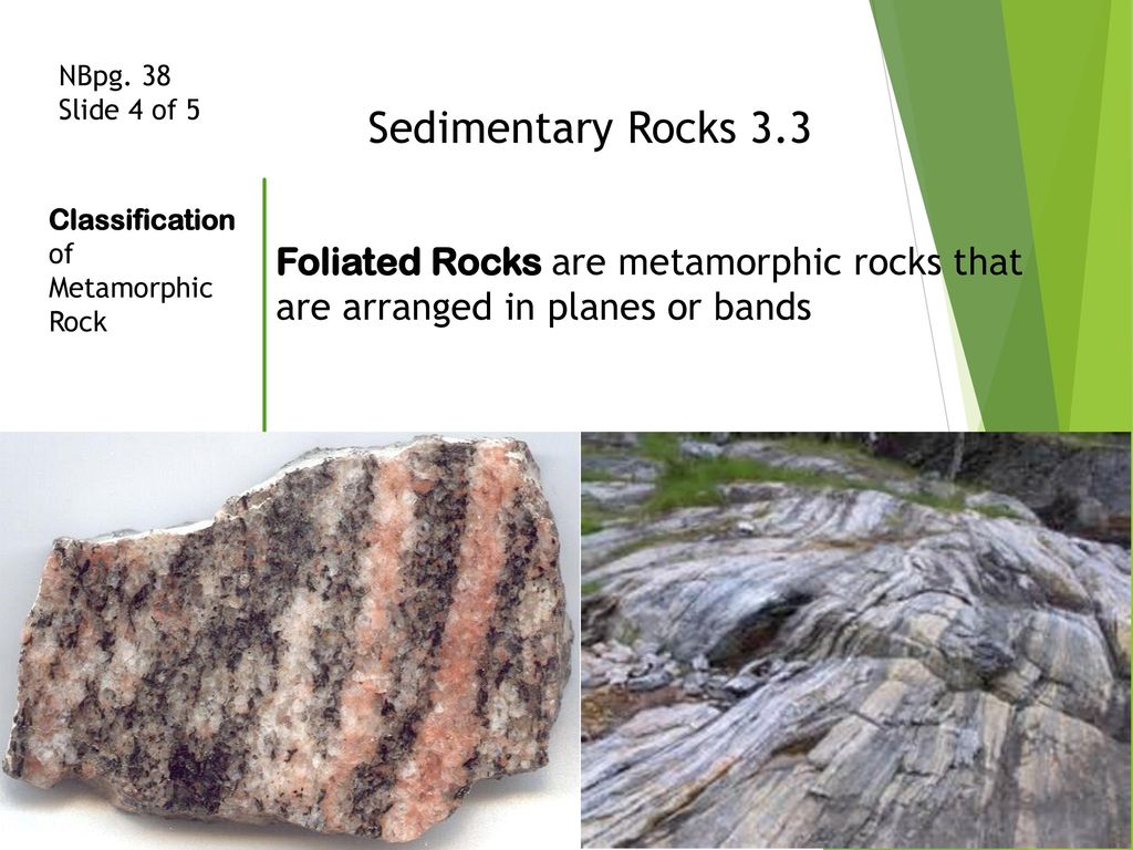 Sedimentary Rocks Chapter 3-3 Metamorphic Rock ppt download