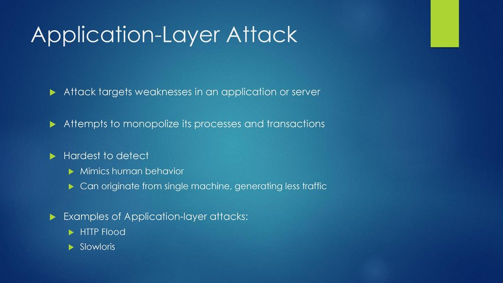 DDoS Attacks on Financial Institutions Presentation - ppt