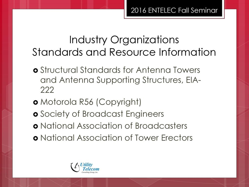Tower Regulations, Compliance and Safety - ppt download