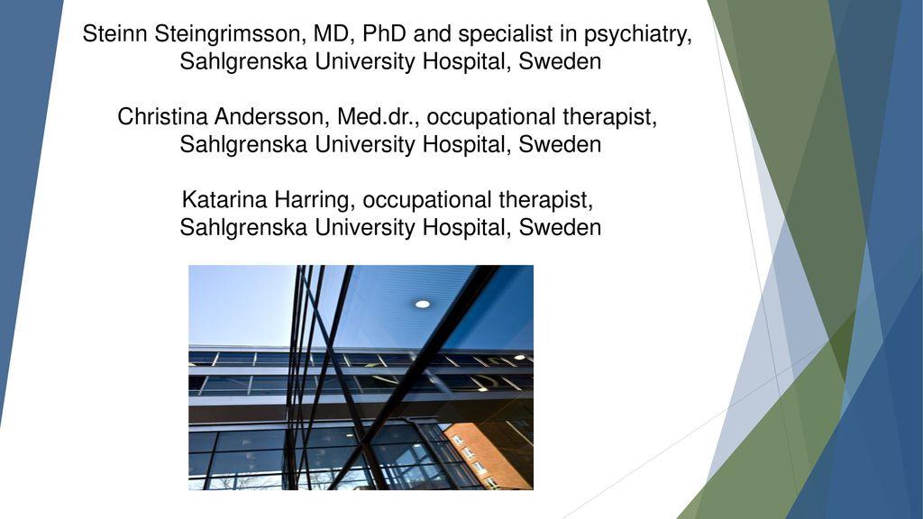 Steinn Steingrimsson, MD, PhD and specialist in psychiatry,