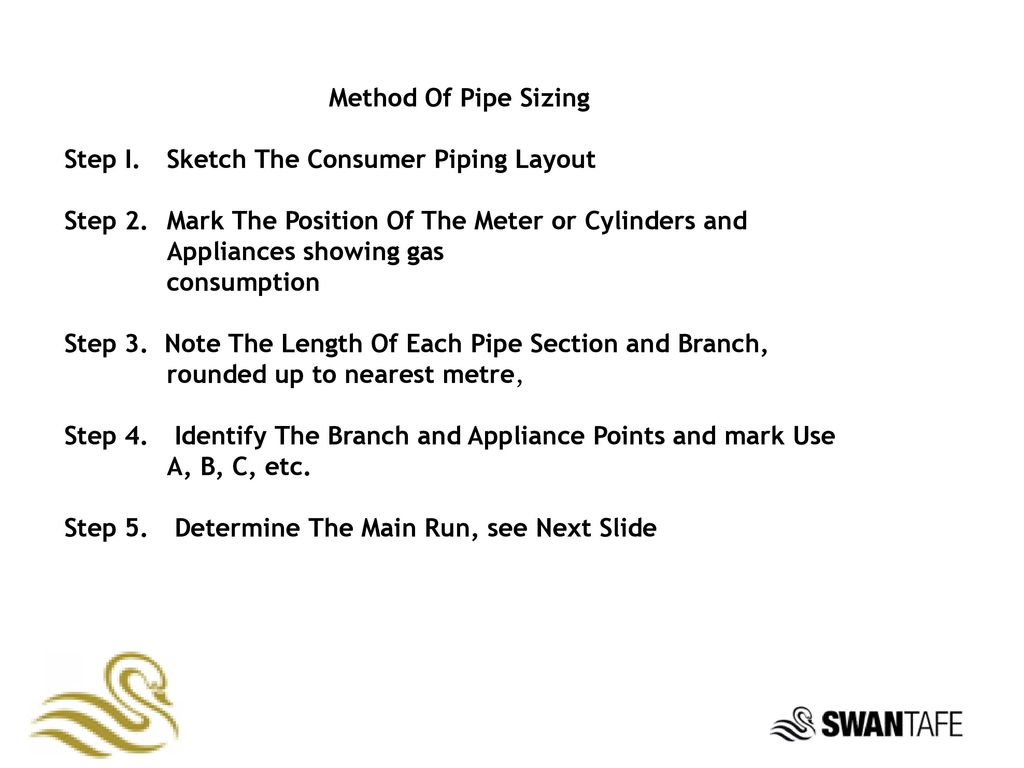 Presented By Ppt Download Piping Layout Course Method Of Pipe Sizing Step I Sketch The Consumer 2