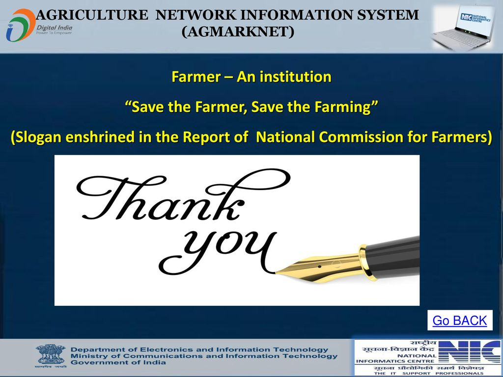 Welcome to AGMARKNET PORTAL AGRICULTURE MARKETING INFORMATION SYSTEM
