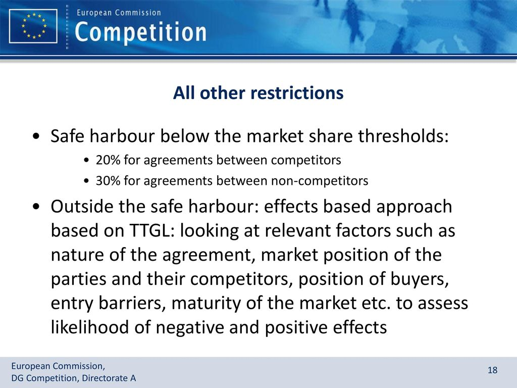 Eu Competition Rules For Technology Transfer Agreements Ppt Download