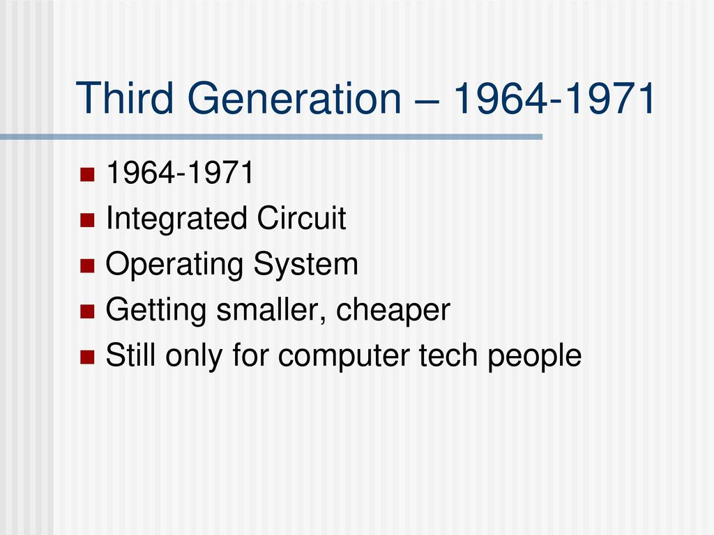 Discussion Questions What Defines A Computer Ppt Download Integratedcircuitjpg 19 Third Generation