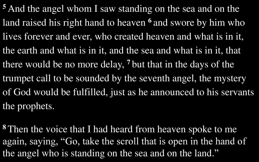The Revelation of Jesus Christ - ppt download