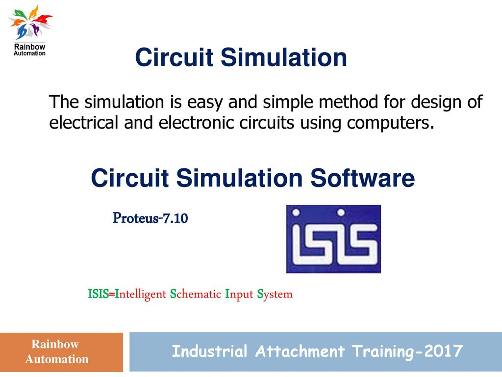 Circuit Simulation Training Ppt Download Electronic 2 Isisintelligent