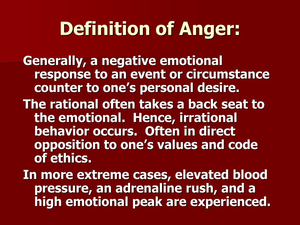 hitting the rock a biblical understanding of anger - ppt download