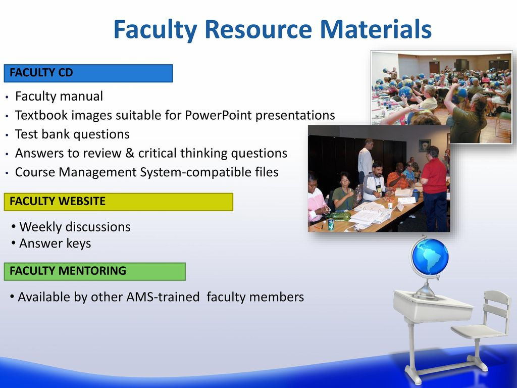 16 Faculty Resource Materials