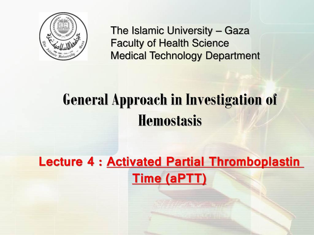 General Approach in Investigation of Hemostasis - ppt download