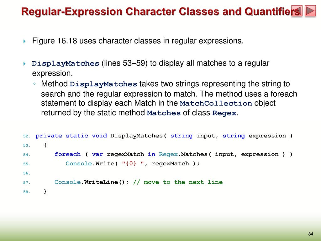 Chapter 16 Strings, Characters and Regular Expressions (318