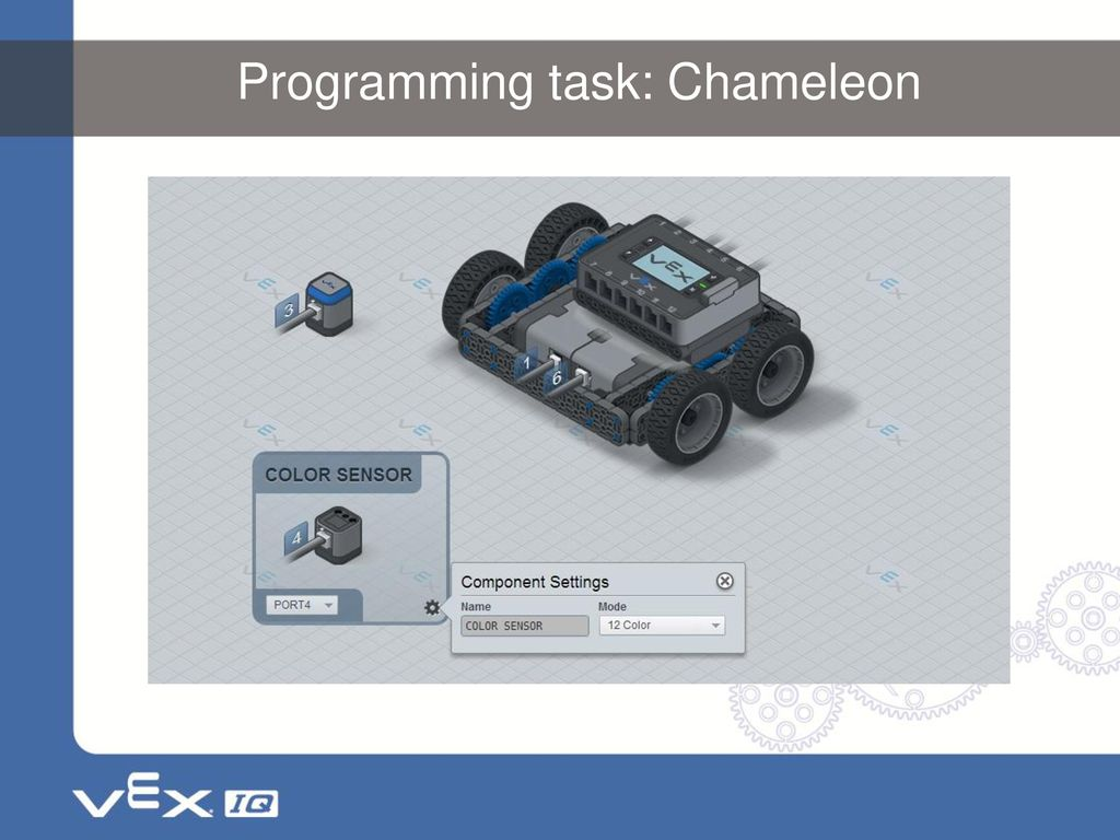 An Introduction To Vex Iq Programming With Modkit Ppt Download How Build A Color Sensor Circuit 6