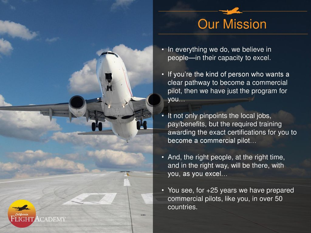 Your Pathway to an exciting Aviation Career - ppt download