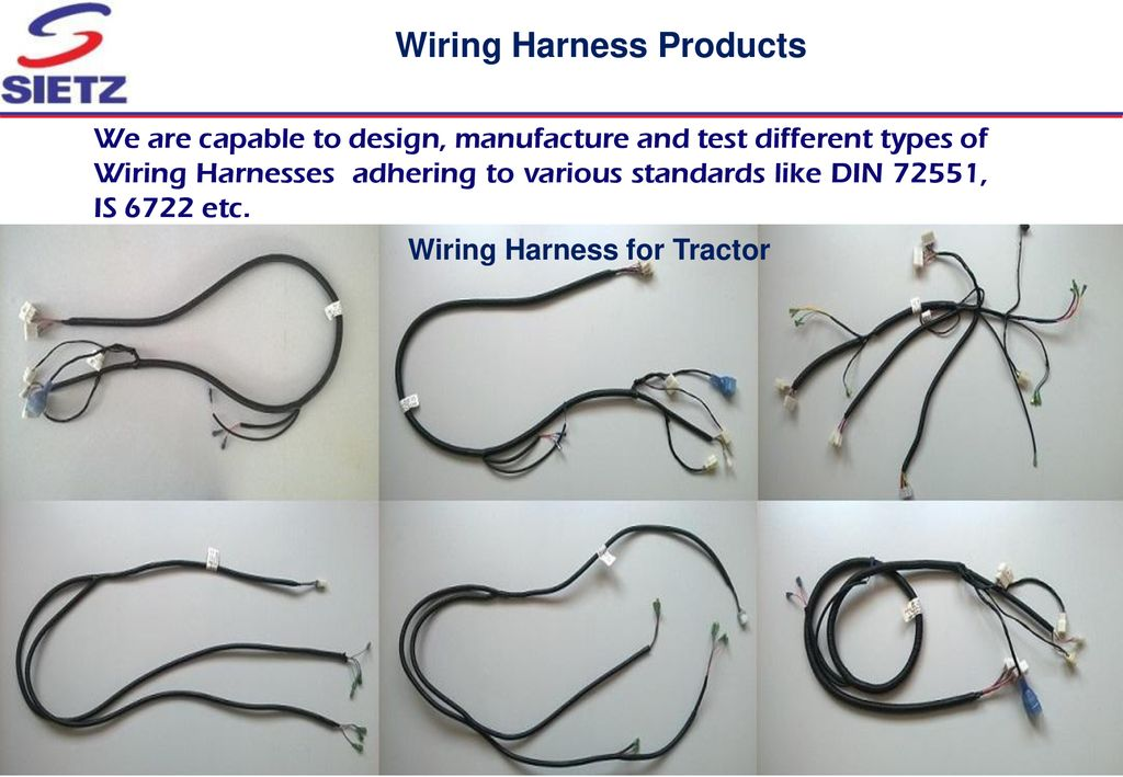 WIRING HARNESS - TRACTORS - ppt download on