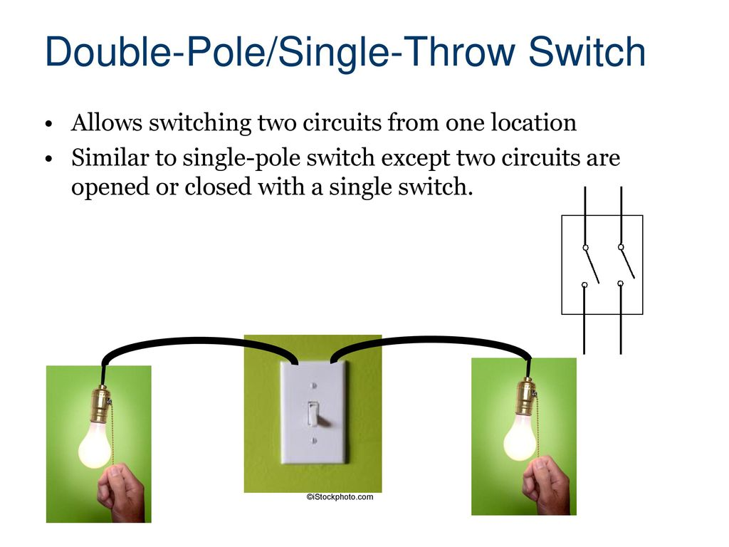 Electrical Systems Civil Engineering And Architecture Ppt Download 240v Double Pole Switch Wiring Diagram 11 Single Throw
