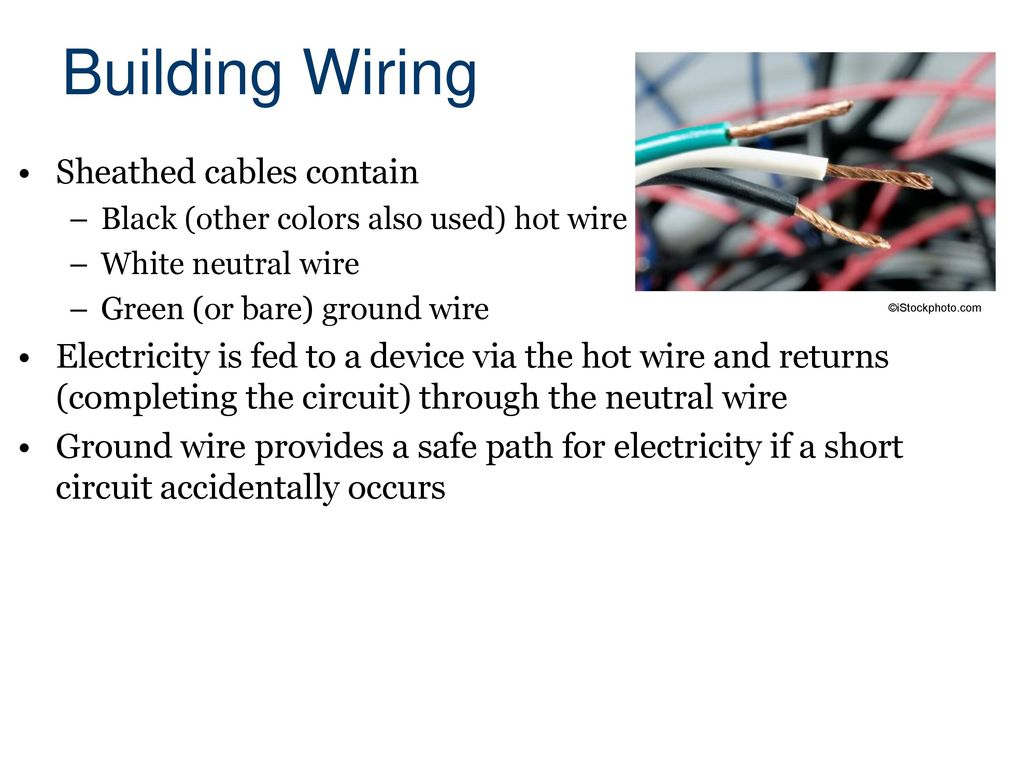 Electrical Systems Civil Engineering And Architecture Ppt Download Wiring A Plug Lesson Building Sheathed Cables Contain