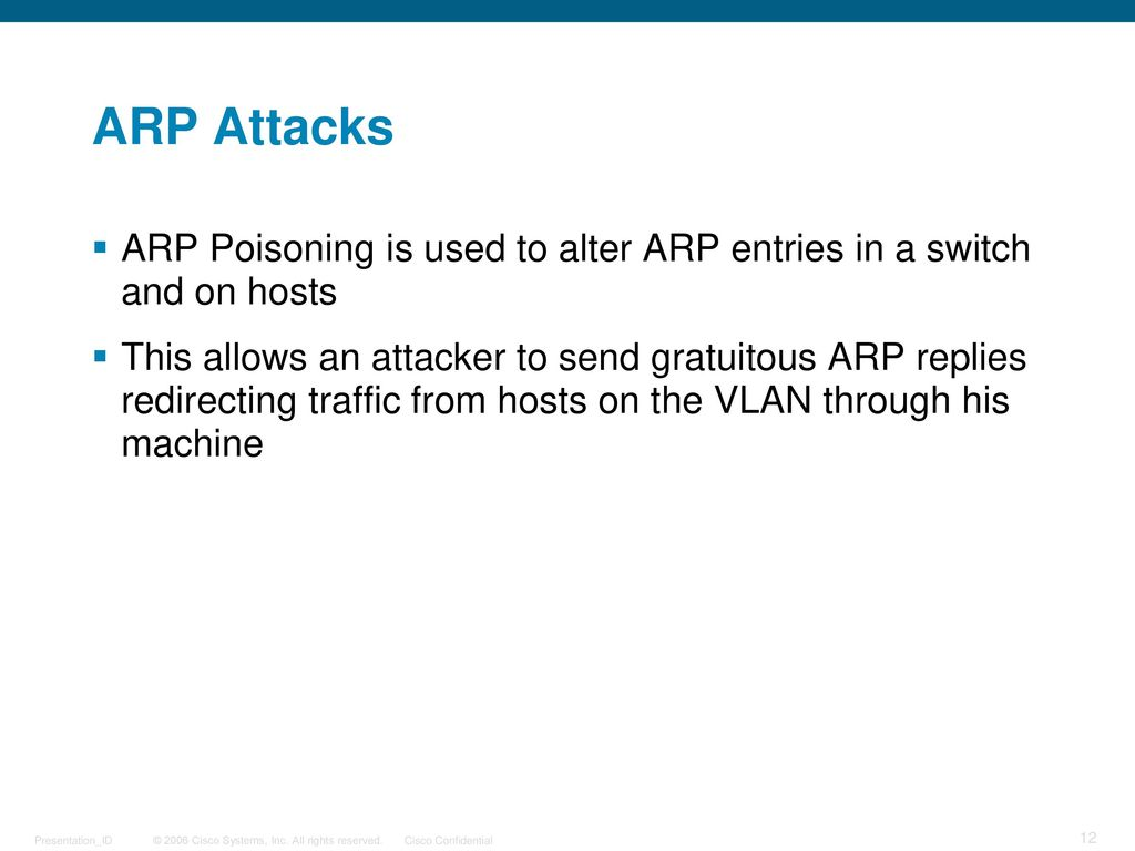 Layer 2 Attacks and Security - ppt download