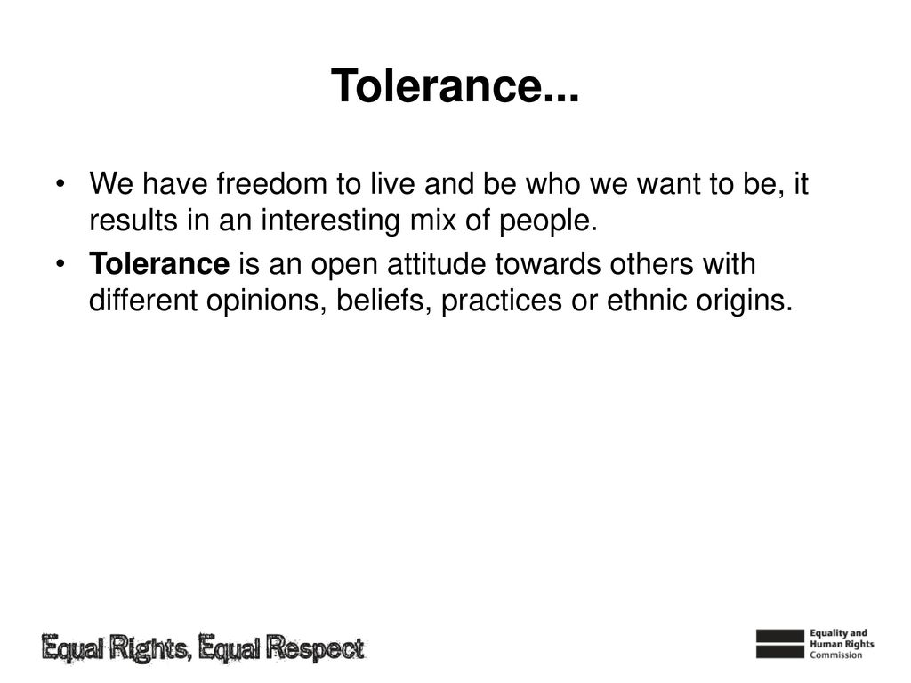 How to Be Tolerant to Peoples Opinions recommend