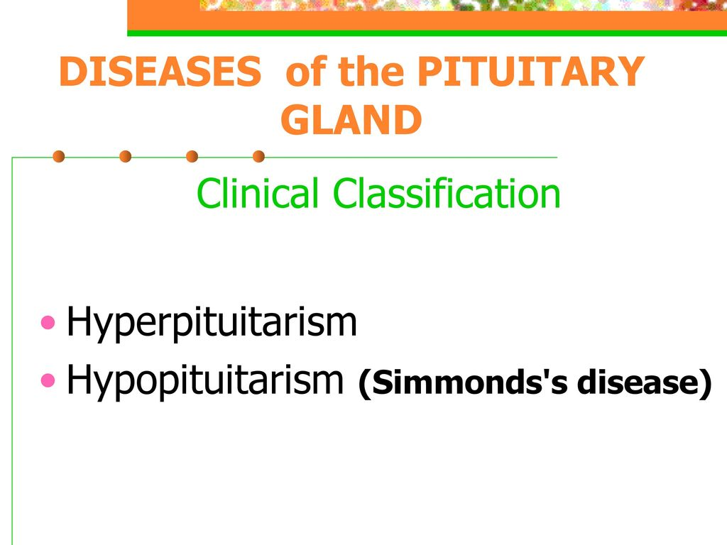 Simmonds Disease
