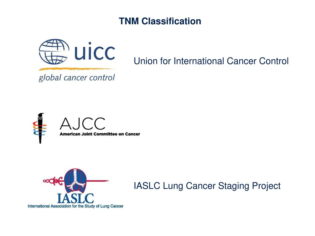 TNM Classification Union for International Cancer Control IASLC Lung Cancer Staging Project