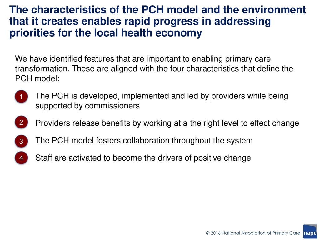 Transforming Primary Care Primary Care Home - ppt download