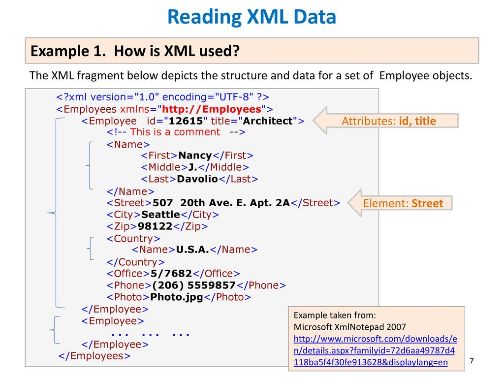 Processing XML and JSON Encoded Data - ppt download