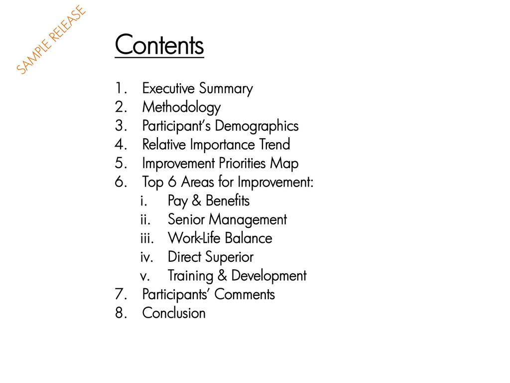 Employee Satisfaction Survey I Ppt Download