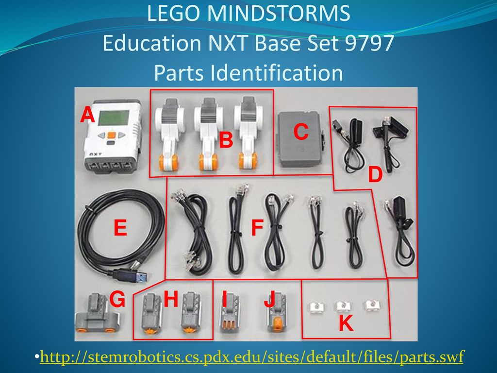 Lego Mindstorms Nxt Education Set 9797 BrickLink Set 97971 Lego