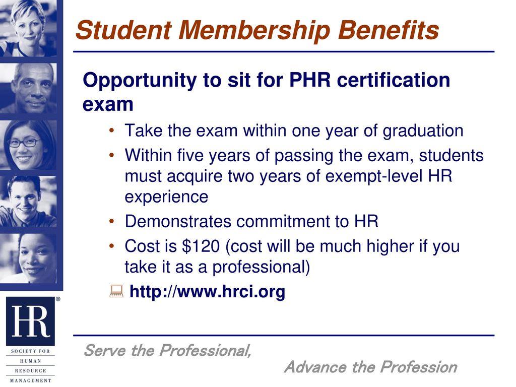 Shrm Student Member Benefits Ppt Download