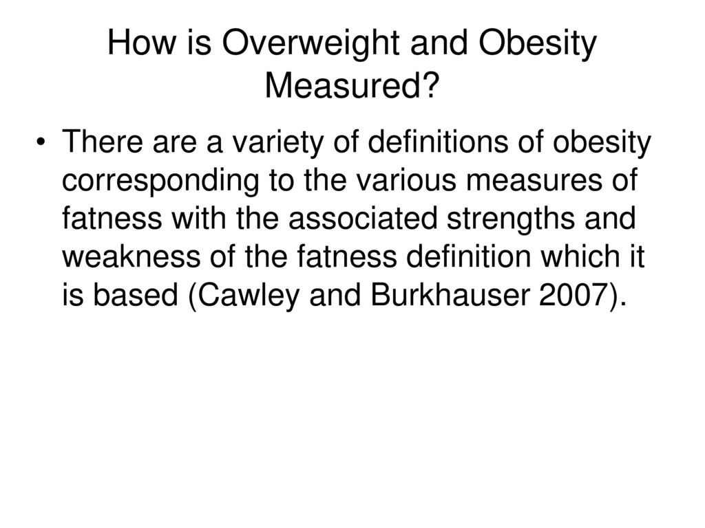 obesity and labour market outcomes - ppt download