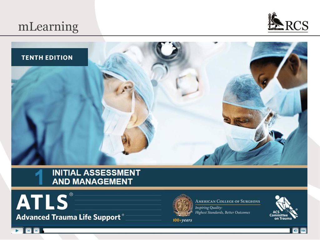 Atls 10th edition update the new course ppt download 44 mlearning fandeluxe Image collections